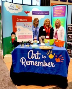 Art to Remember booth NAEA