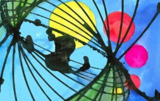 STEAM Pendulum Art Painting Lesson Plan