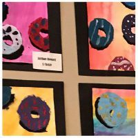 Donut Art Project