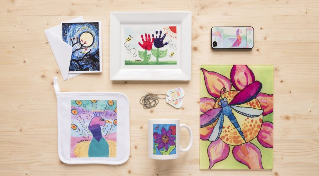 Art Fundraising Personalized Products Art To Remember